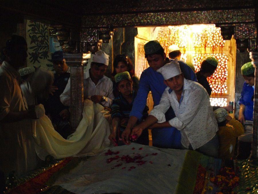 tumba santo Fatehpur Sikri