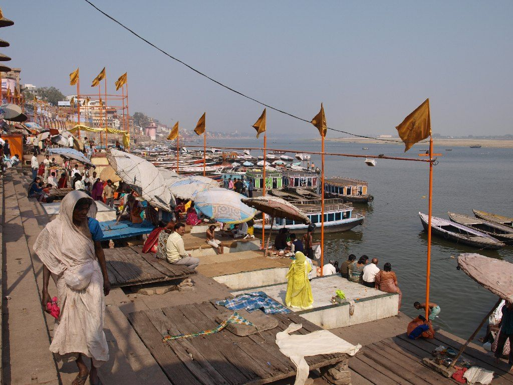 Viaje a India ghat Varanasi