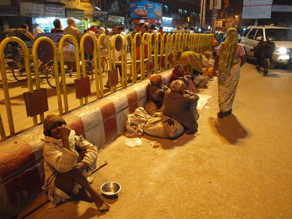 Viaje a India Varanasi de noche