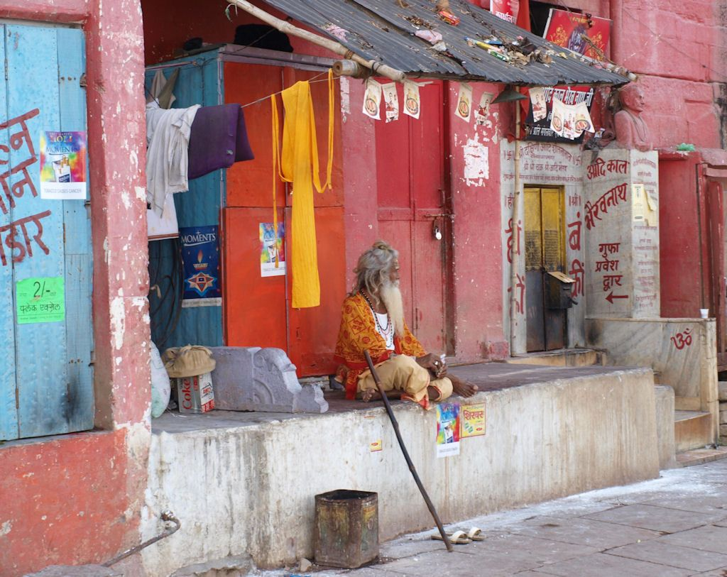 Viaje a India sadhus Varanasi
