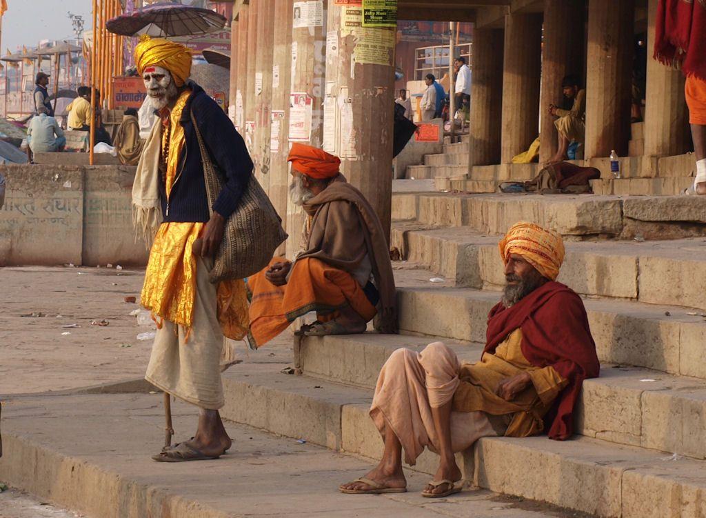 Viaje a India sadhus y hombres santos