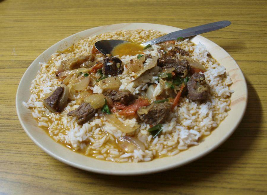 Nepal, gastronomia, comida, platillos tipicos