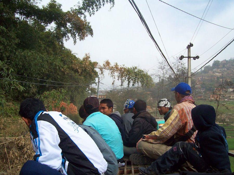Viaje a Nepal transporte