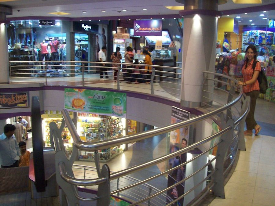 Calcuta, India, compras, cine, que hacer, centro comercial, tiendas