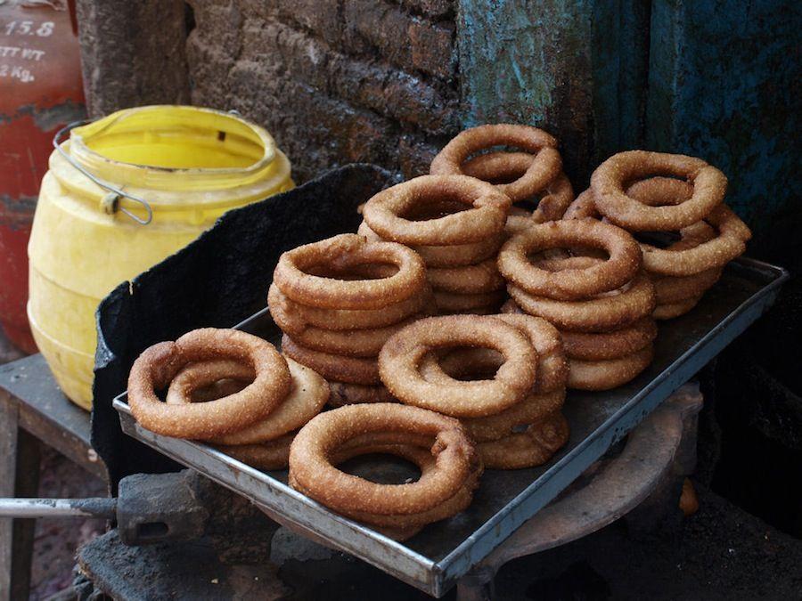 Nepal, dulces, comida, gastronomia, fritos
