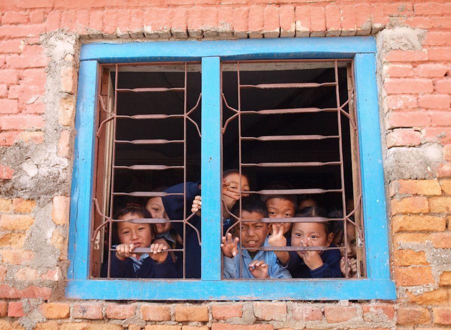 Alrededores de Kathmandu, Nepal