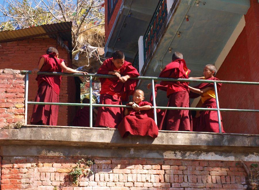 Viaje a Nepal, monasterio, dormir, Pharping