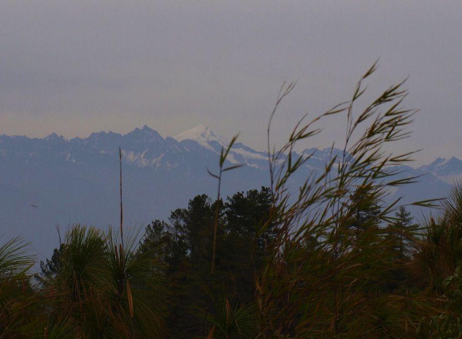 Himalaya nevado Nepal viaje