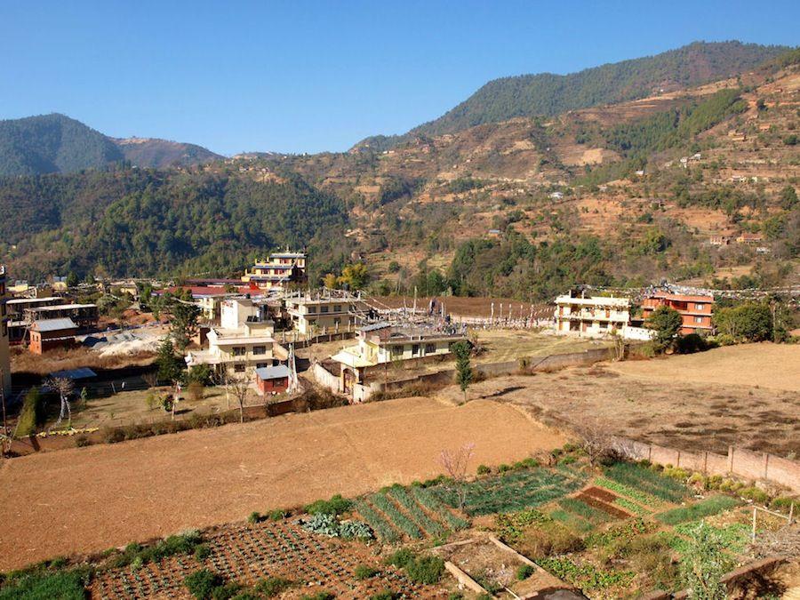 el pueblo más autentico de Nepal