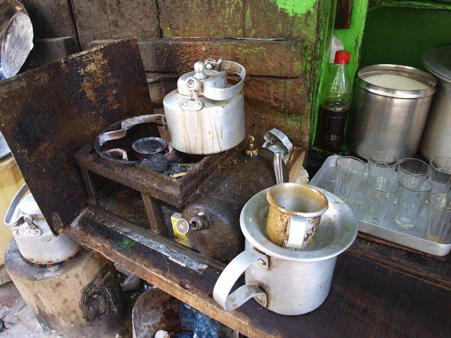 chai, te, India, infusion, comida callejera, cultura, barato