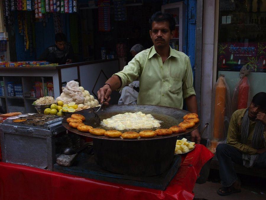 comida vegetariana, platillos, India, barato, mochileros