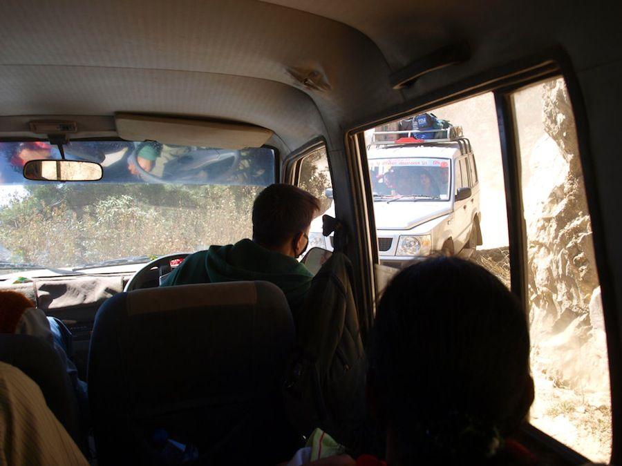 Cómo son las carreteras de Nepal, transporte