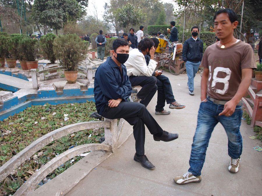 contaminación ciudad Kathmandu, Nepal