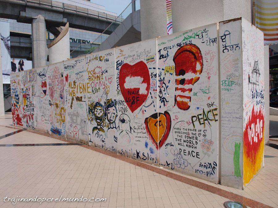viaje a Tailandia, arte, cultura, calle, bangkok