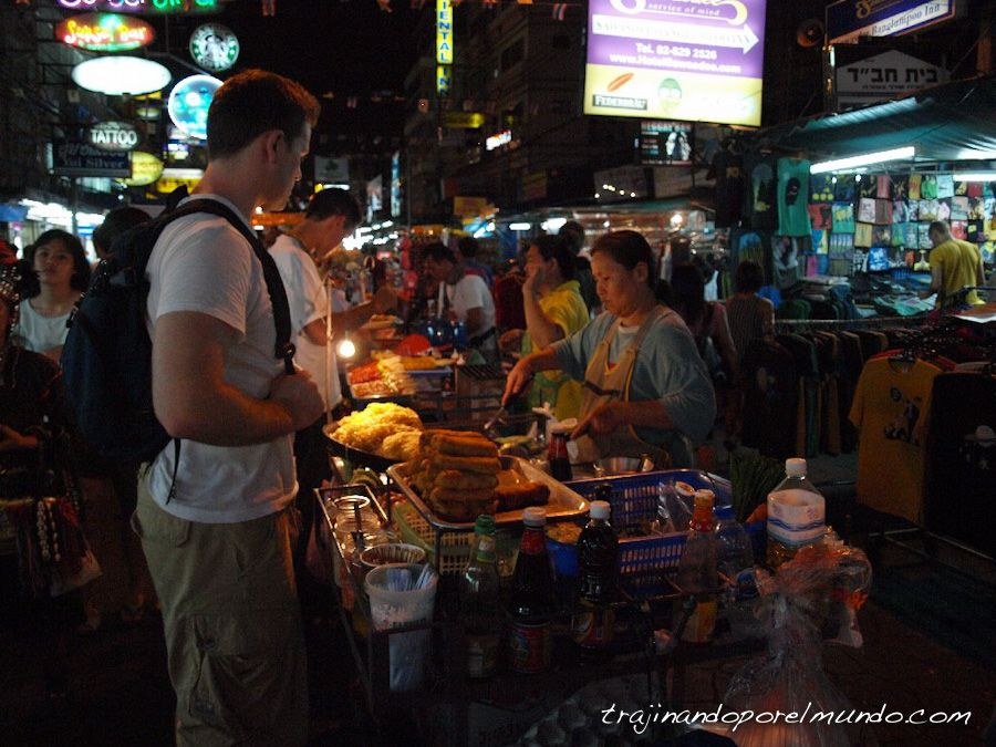 viaje a Tailandia, bangkok, donde comer, platillos, comida