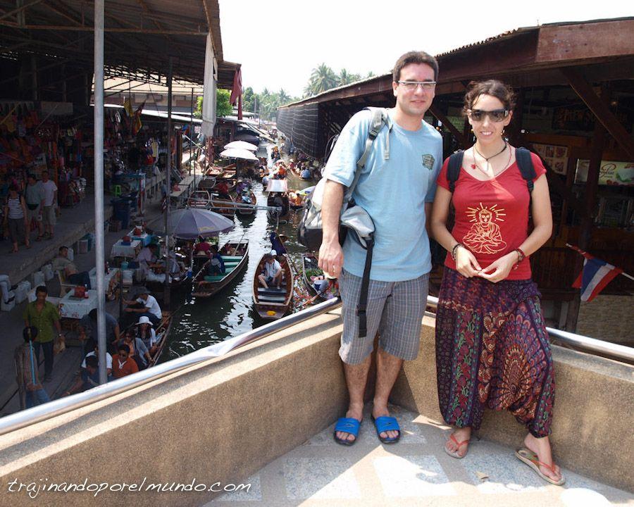 Damnoen, Bangkok, que ver, mercados