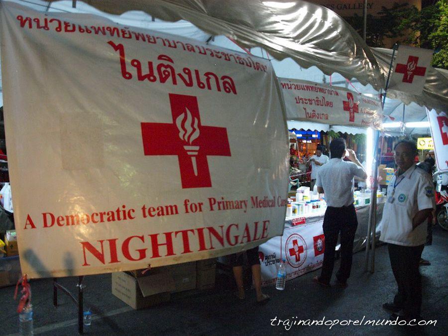 bangkok-protestas-personal-sanitario