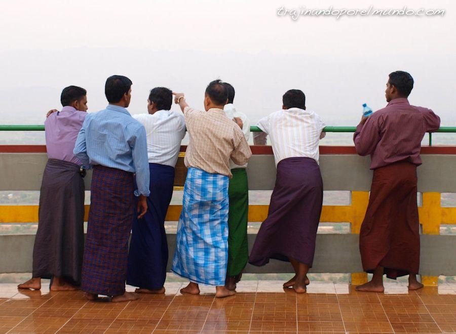 viaje, Birmania, ropa, costumbres, Mandalay