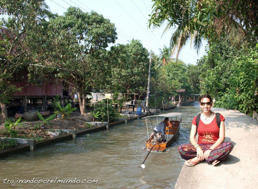bangkok, tailandia, mercado flotante, que ver, turismo, canales