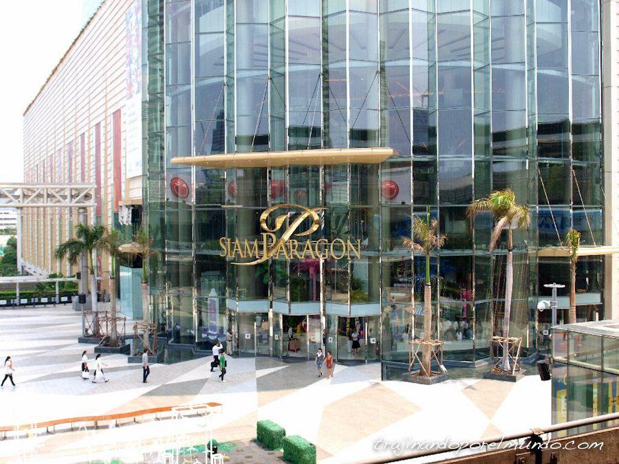 comprar, bangkok, lujo, centros comerciales