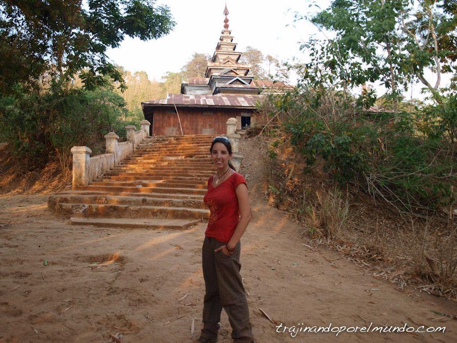 dormir, monasterio, myanmar, lago inle, shan state