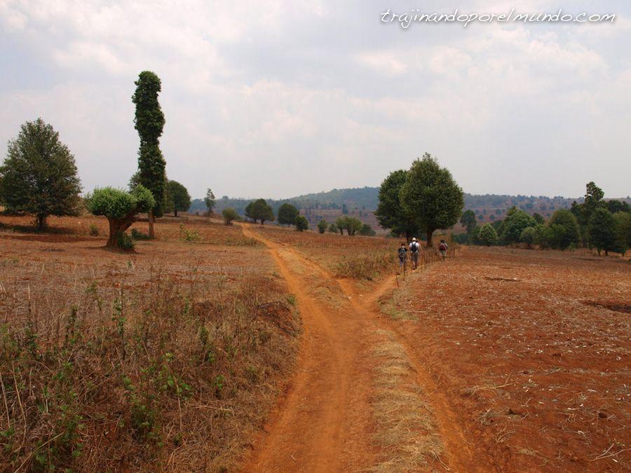 viaje, Birmania, trekking, lago inle, kalaw