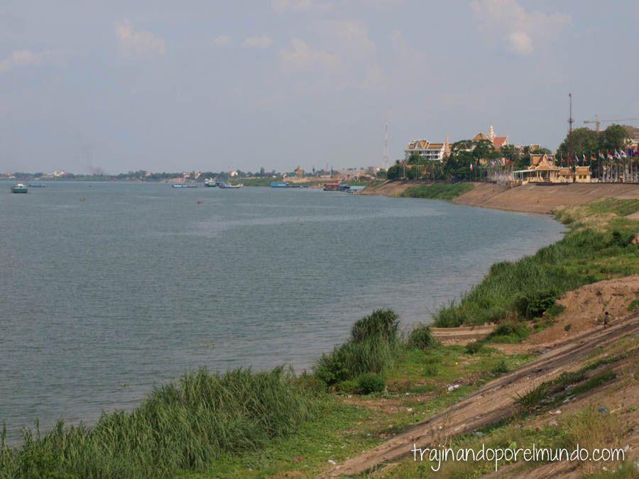 viaje, camboya, capital, phnom penh, rio, palacio real