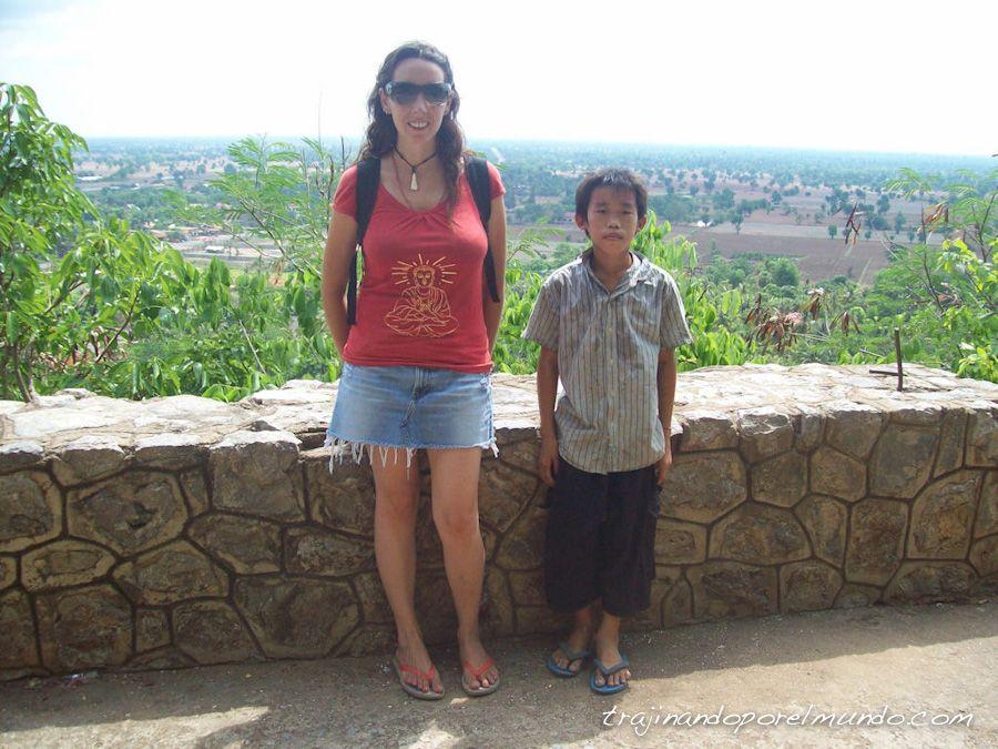 viaje, Camboya, Battambang, excursion