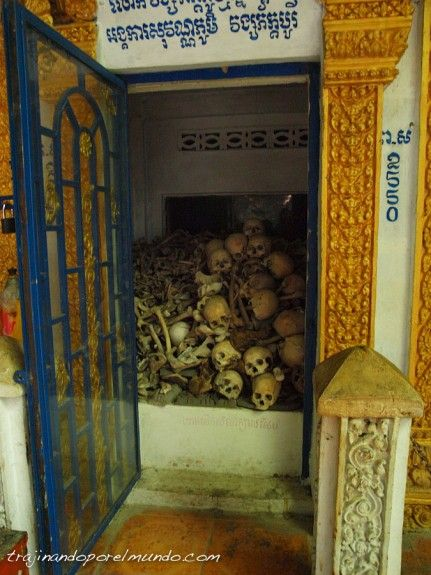 camboya, viaje, genocidio, victimas, battambang
