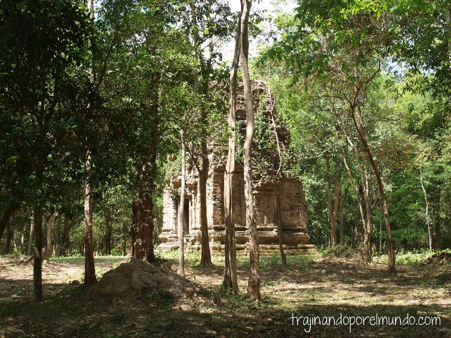 viaje a camboya, que ver, Sambor Prei Kut, templos, ruinas