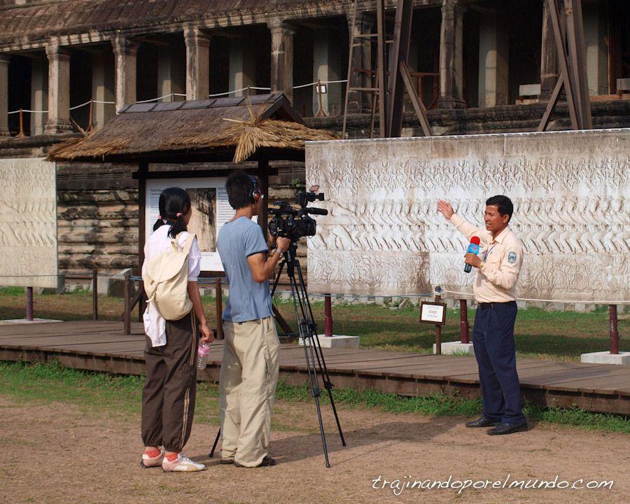 camboya, viaje, angkor, ruinas, arqueología, documental, historia