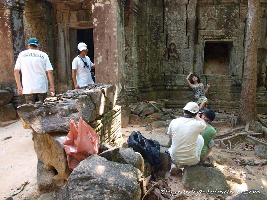 Angkor, camboya, templos, ruinas, fotografías, modelos
