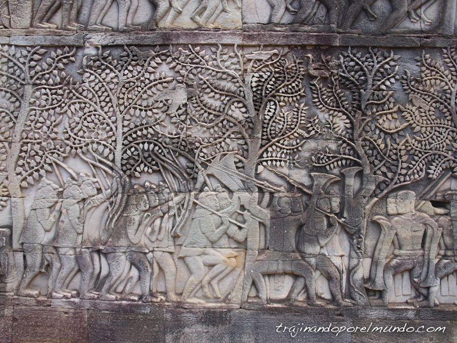 viaje, camboya, templos, angkor, bayon
