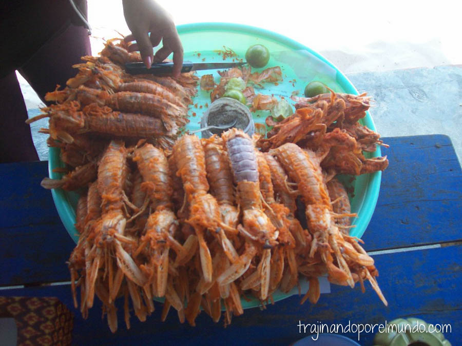 viaje a camboya, comer barato, playas, marisco, pescado