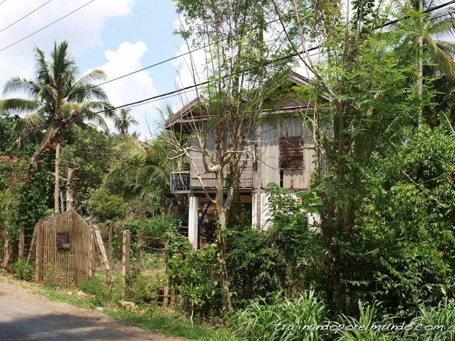 Camboya, selva, Battambang, pueblos