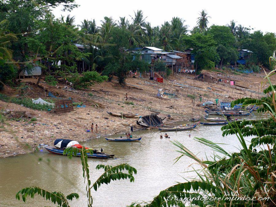 viaje a Camboya, Battambang, pueblos, que ver