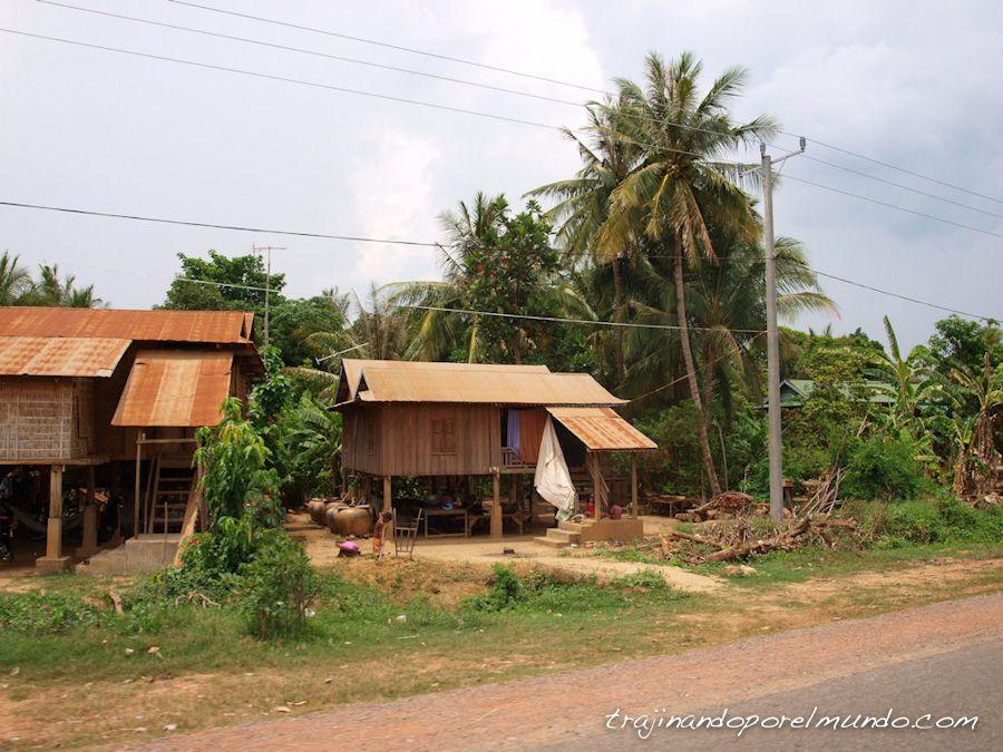 camboya, viaje, frontera, pueblos