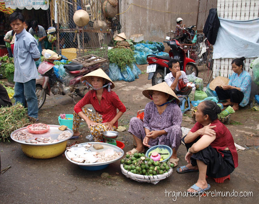 viaje a vietnam mekong, delta, mercados, que ver en Can Tho