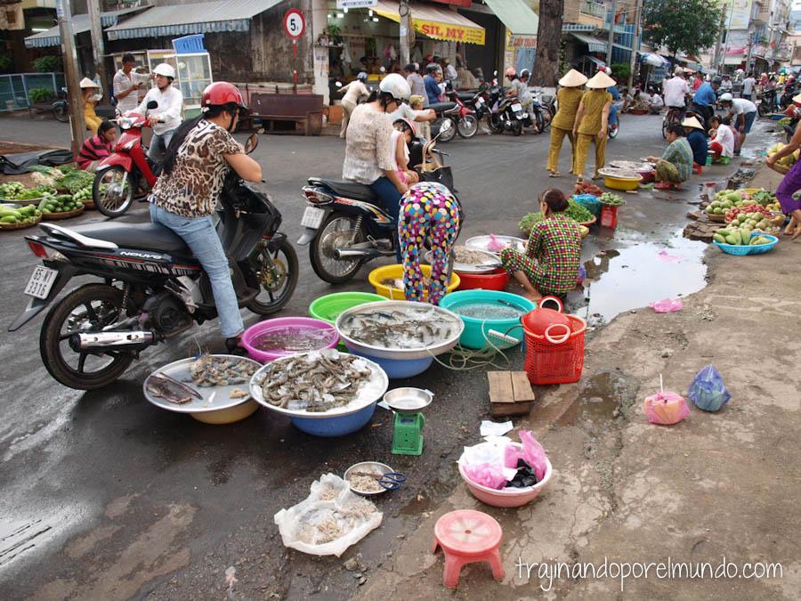 mercado de can tho, delta del mekong, que ver, vietnam