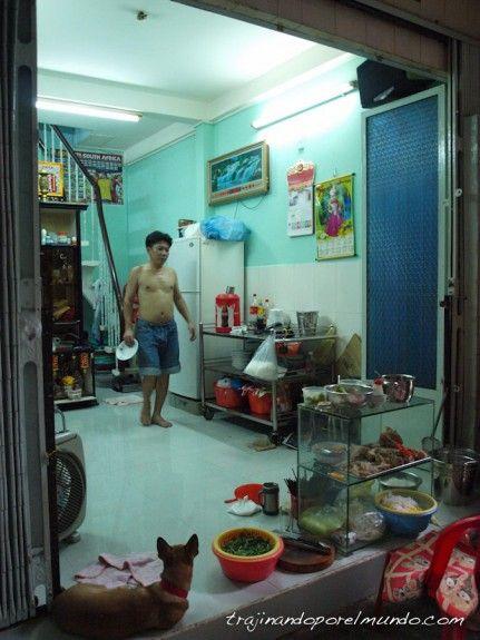 Pham Ngu Lao, alojamiento, restaurante, casa, viaje, Vietnam