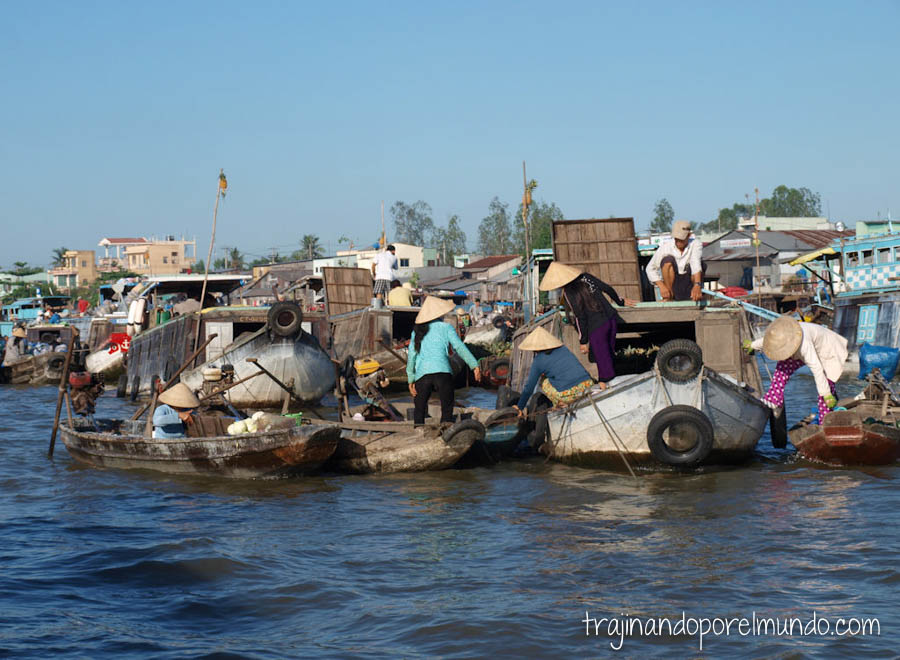 viaje a vietnam, mekong, pueblos, canales, paseo en barca