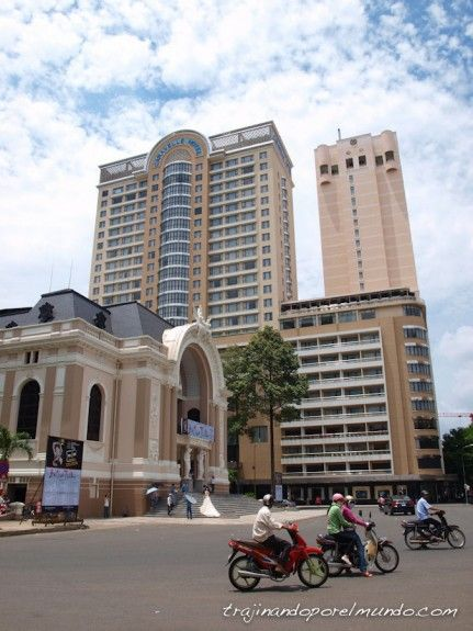 viaje a Vietnam, que ver en Saigon, barrio frances, turismo, visitas