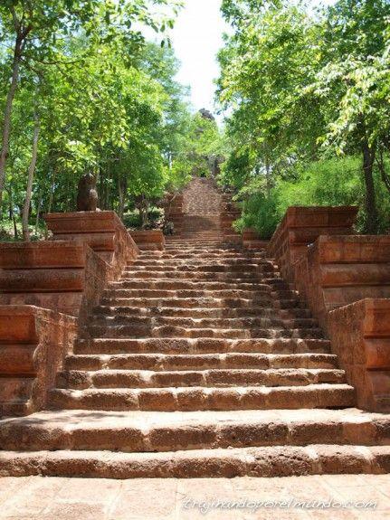 viaje, camboya, battambang, templos, excursion