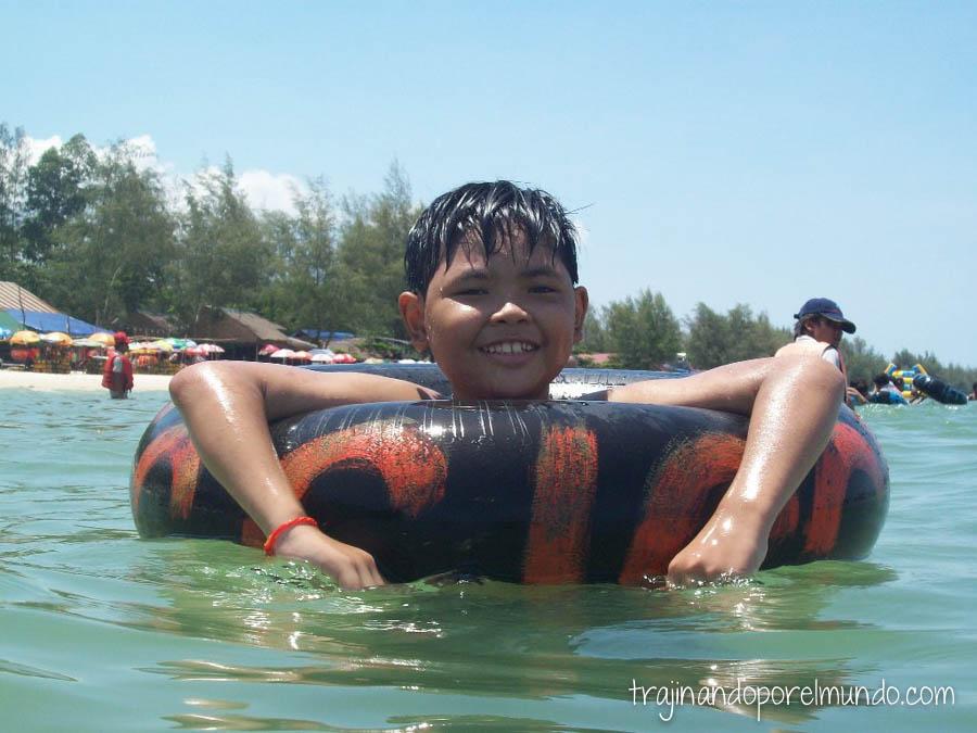 Sihanoukville, Camboya, playas, mochileros