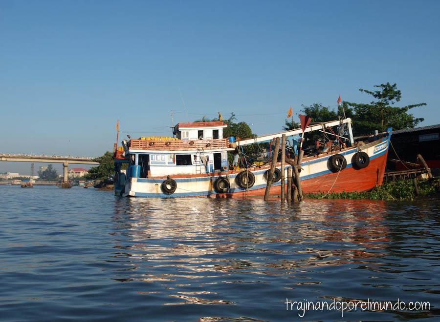 casas flotantes, mekong, vietnam, viaje, can tho