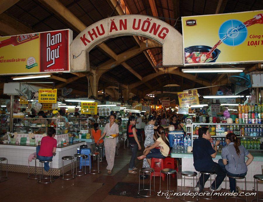 Viaje a Vietnam, mercados de Asia, comer barato, Saigon, Ho Chi Minh
