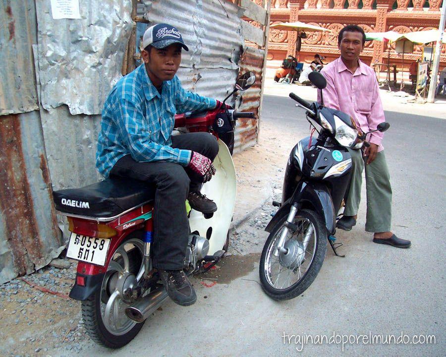 moto-taxi, camboya, phnom penh, viajar barato