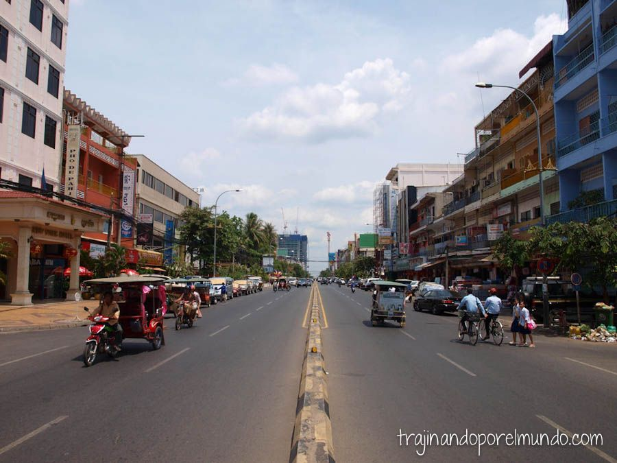 Monivong Boulevard, Phnom Penh, Camboya, city