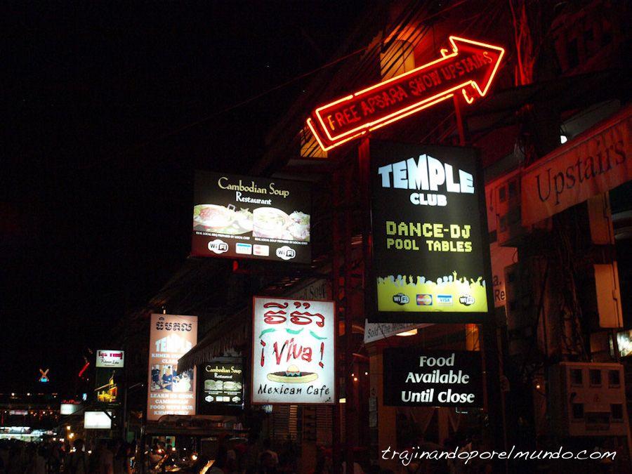 comer ne siem reap, beber en siem reap, camboya, fiesta mochileros, turismo
