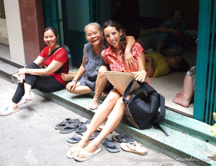 viaje a Vietnam, familias, Ho Chi Minh City